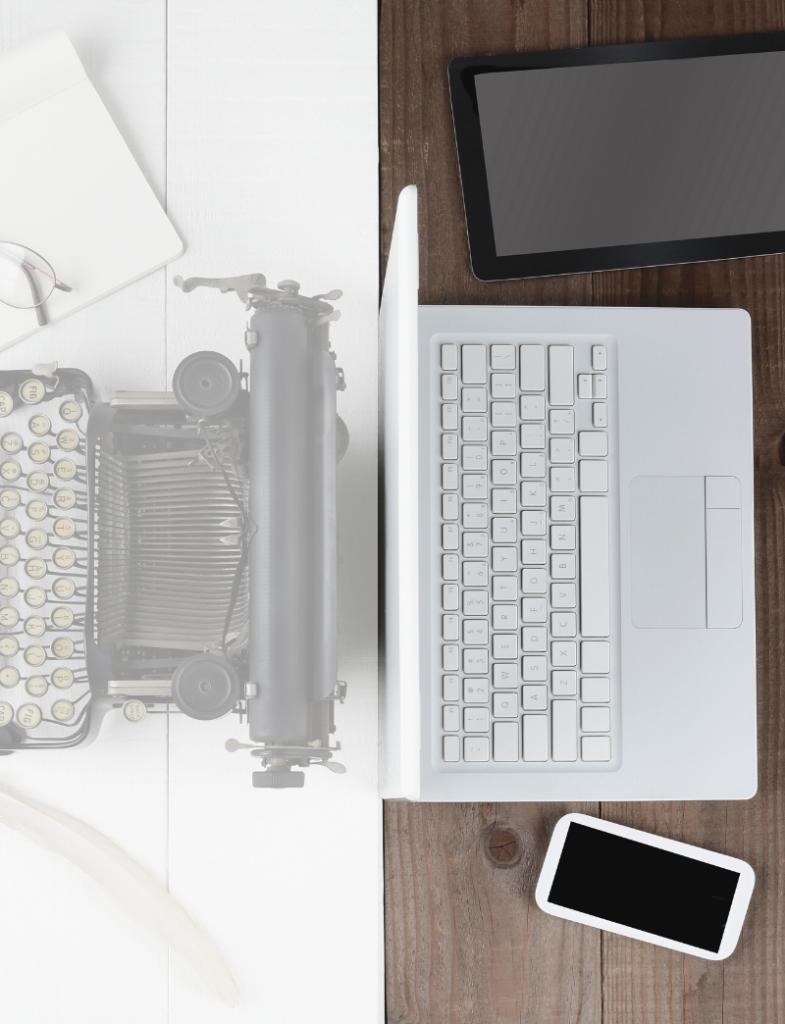 typemachine laptop mobile
